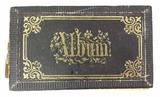 Antique Mini Black & White Photo Album