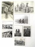 Original Ww2 Soldier Photos W/ Iwo Jima