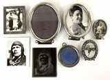 Antique Sterling Silver Picture Frames & Photos
