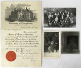 Thomas R. Meux 1888 Medical Diploma,