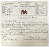 1909 United Confederate Veterans General Orders