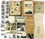 Vintage Photos, Letter, Envelopes, Scrapbook Album