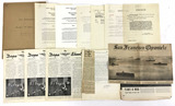 1940s Naval Commendations, Newspapers