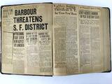 1930s Henry E. Barbour Political Scrapbook