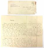 1894 Valedictory Address Of Henry E. Barbour