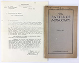 The Battle Of Monocacy July 9, 1864 Book