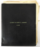1932 Letters To Congressman Henry E. Barbour
