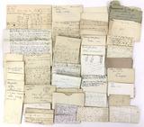 1817-1890s Hand Written Letters