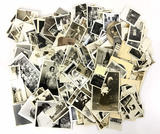 Large Collection Antique Black & White Photos