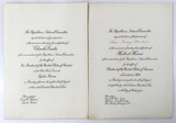 1932 Republican National Committee Invitations