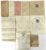 Civil War Era Military Discharge Papers, Furlough
