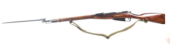 Pre Ww2 Mosin Nagant M-91 Bolt Action Hex Rifle