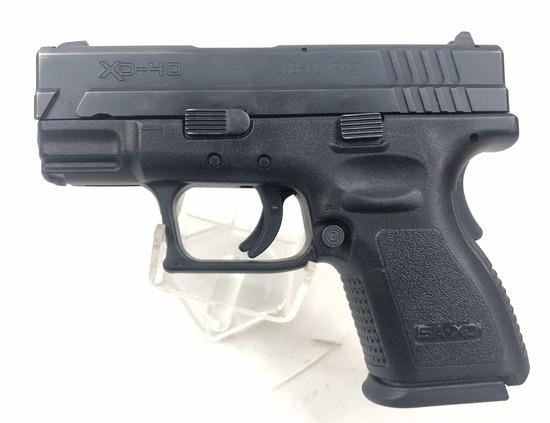 Springfield Xd-40 Sub Compact Pistol