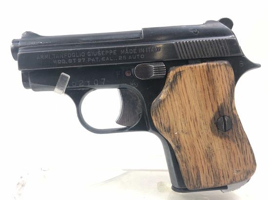 Armi Tanfoglio .25acp Gt27 Pistol