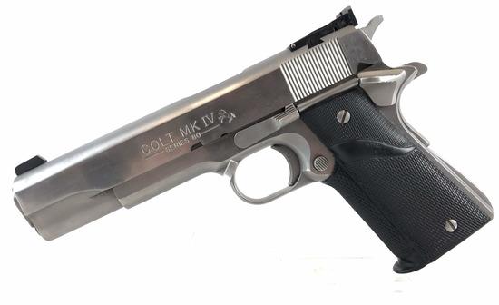 Colt Mk Iv Series 80 1911 Pistol