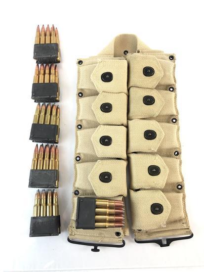 Bandolier Full of 30-06 sprg Ammo & Extra
