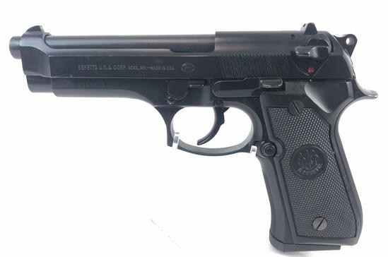 Beretta 9mm Semi Automatic Pistol