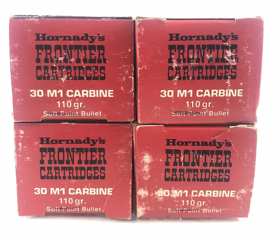 200 Rds. Hornady's Frontier Cartridges