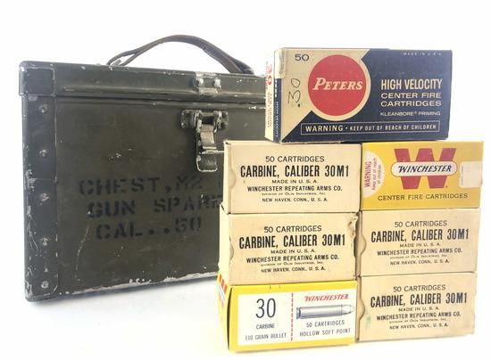 350 Rds. Of 30m1 Carbine Ammunition