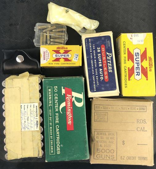 Group Of Varying Vintage Ammunition