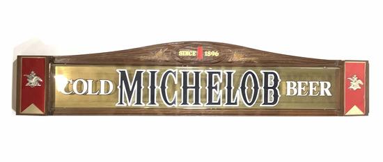Vintage Michelob Beer Advertising Bar Sign