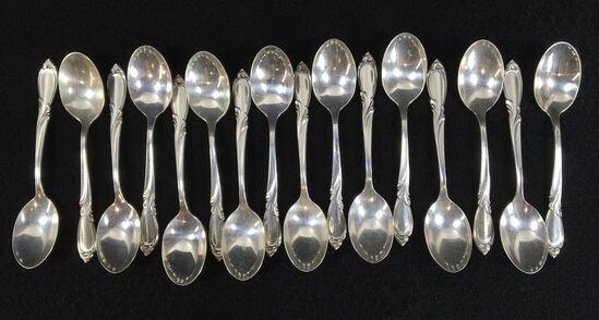 (16) International Sterling Silver Spoons