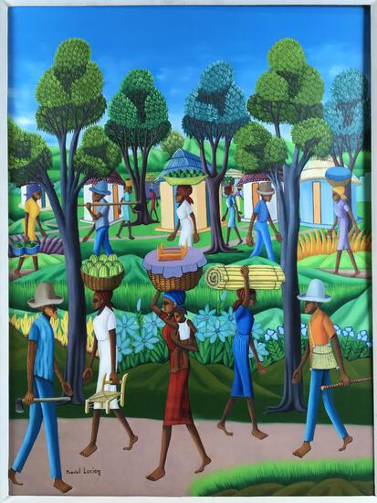Lucien Pradel (1923-) Signed Original Painting