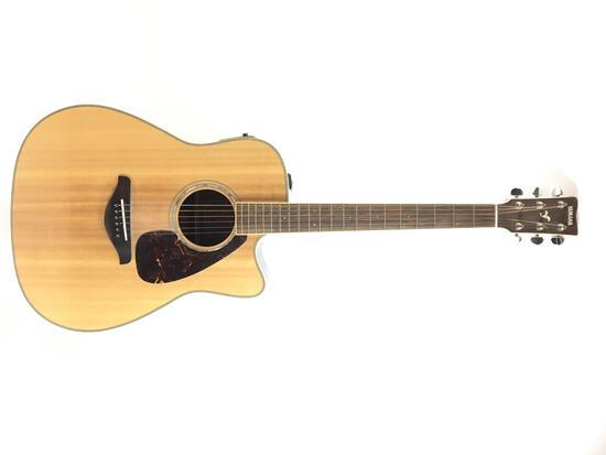 Yamaha Fgx730sc Acoustic / Electric Guitar