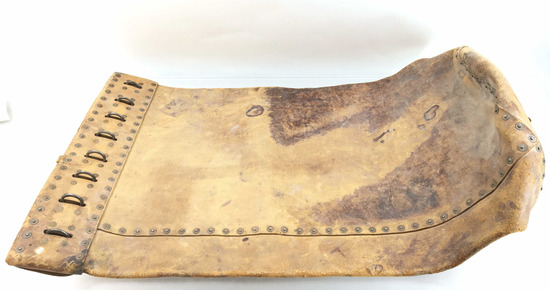 Antique Leather Postal Railroad Mail Bag