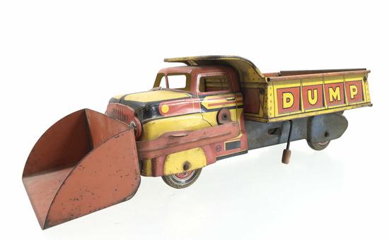 Lumar Contractors Marx Pressed Steel Dump Truck