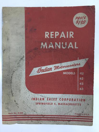 1949 Indian Motorscooters Repair Manual