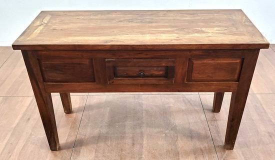 Rustic Oak Console / Sofa Table