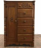 Virginia House Salem Maple Gentleman's Cabinet