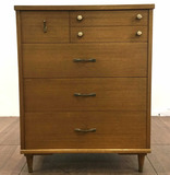 Vintage Mid Century Modern Style Chest Of Drawers