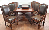 11pc Traditional Baroque Style Dining Group