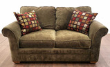 Rowe Furniture Traditional Rolled Arm Loveseat