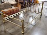 Vintage Full Size Brass Bed Frame