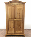 Broyhill Traditional Style Maple Wood Armoire