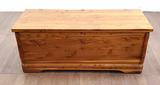 Vintage Murphy Pine / Cedar Lined Trunk
