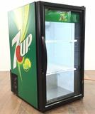 7up Lit Countertop Store Display Refrigerator