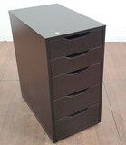 Contemporary Style 6- Drawer Side Cabinet