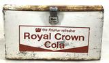 Vintage Royal Crown Cola Aluminum Cooler