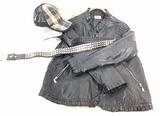Women's Faux Leather Jacket, Belt, Hats, Hurley