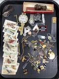 Bird Cigarette Cards, Wax Stamp Seals & Jewelry
