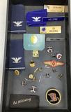Vintage Lt. Col. Edward Hillding Military Pins