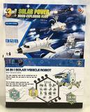 (2pc) Solar Power Vehicle Robot & Moon Fleet