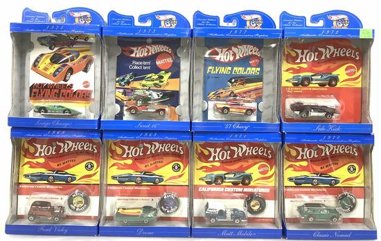 (8pc) Hot Wheels Collectors Favorite Models Cars