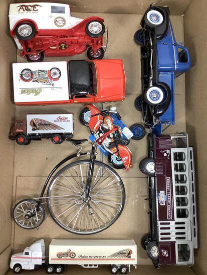 Die Cast Model Indian Motorcycle Vehicles