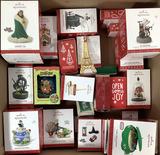 Assorted Hallmark Keepsake Christmas Ornaments