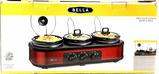 Bella Triple Slow Cooker Buffet & Serve